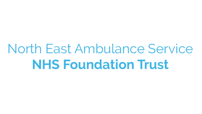 Logo for the North East Ambulance Service