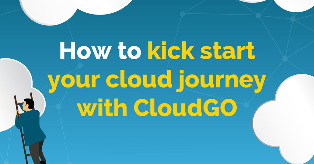 "Graphic saying ""How to kick start your cloud journey with CloudGo"""